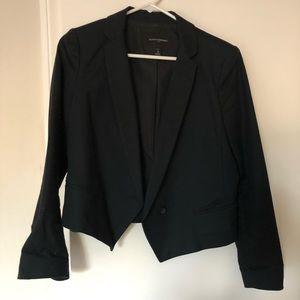 Banana republic tuxedo crop blazer, size 4p